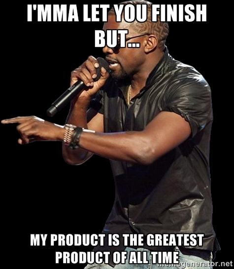 Kanye West Marketing Meme
