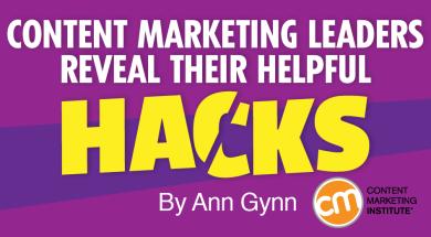B2B Content Marketing Hacks