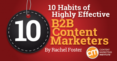 Highly Effective Content Marketers