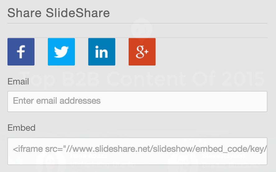 SlideShare Embed