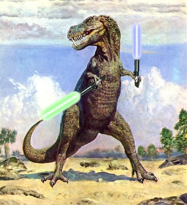 T-Rex Superfight