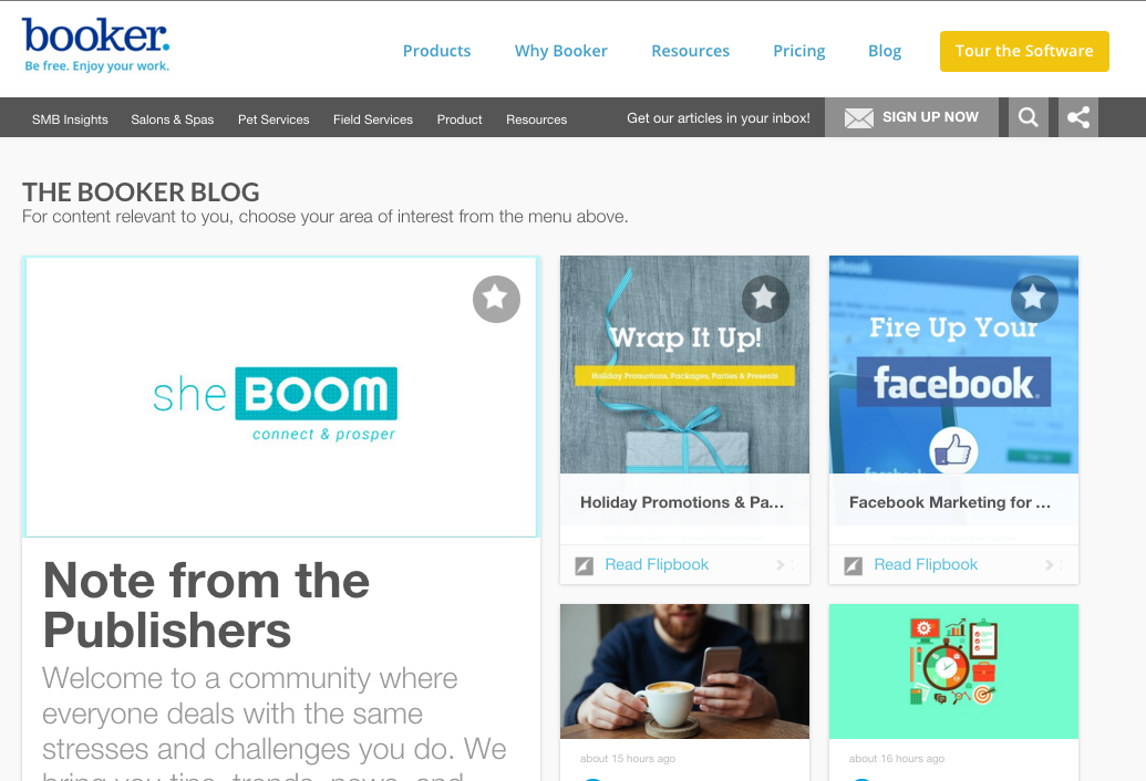 Booker Blog