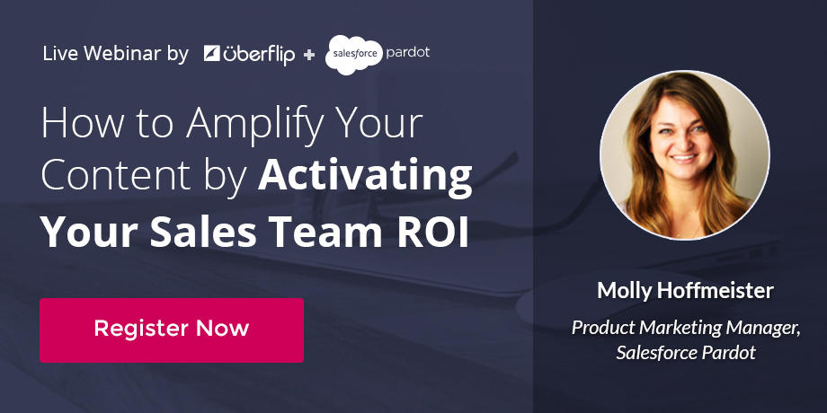 How to Amplify Your Content by Activating Your Sales Team ROI Webinar