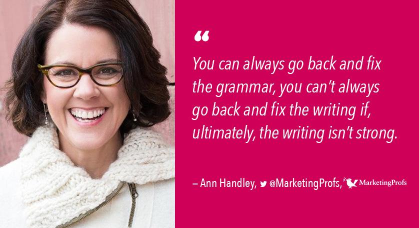 Ann Handley FTS