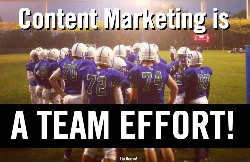 Content Marketing is a Team Effort