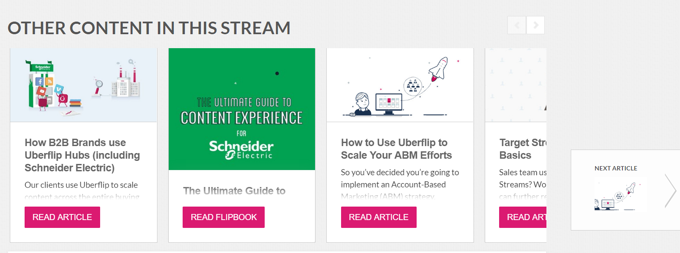 ABM Personalized Content | Uberflip