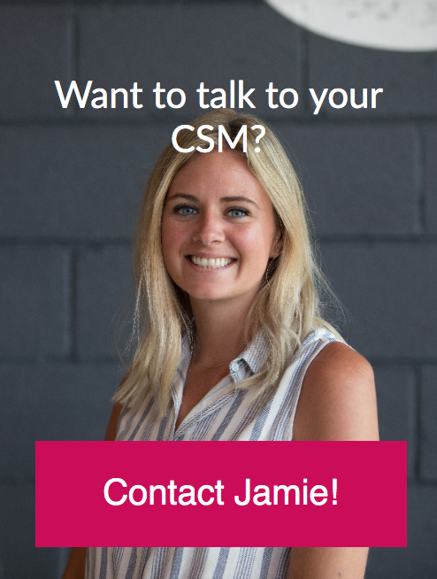 CTA with headshot of a customer success manager