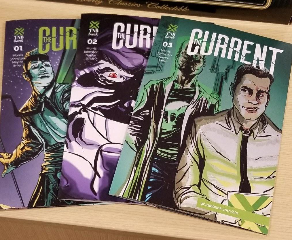 Current Comic Book Series