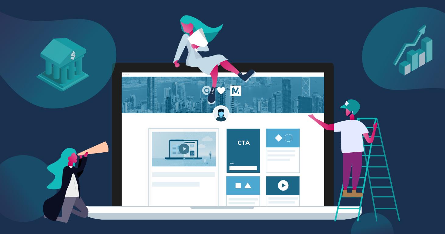 FinServ Companies Leveraging Content For Success Header