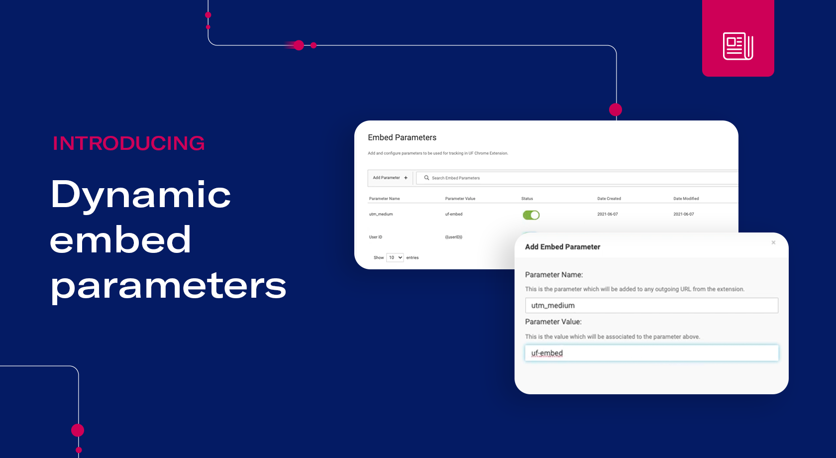 Uberflip Press Release | Uberflip Releases First-of-its-Kind Dynamic Embed Parameters Feature