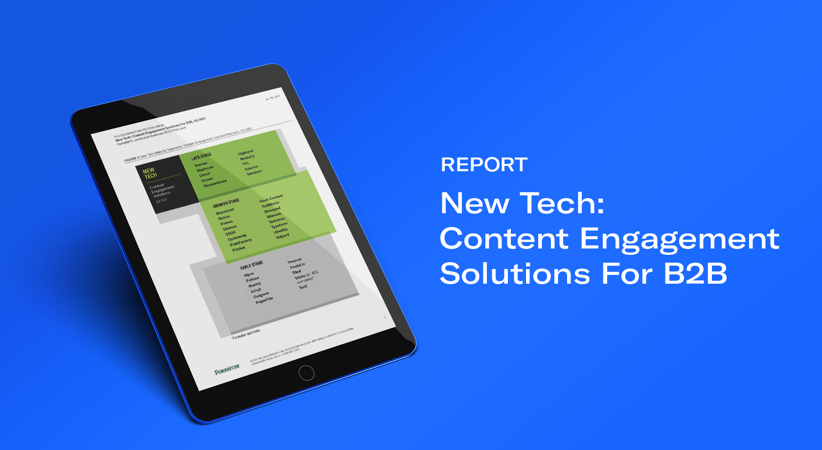 Uberflip Recognized in B2B Content Engagement Solution Report