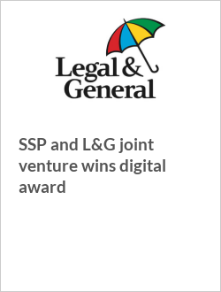 SSP and L&G joint venture wins digital award