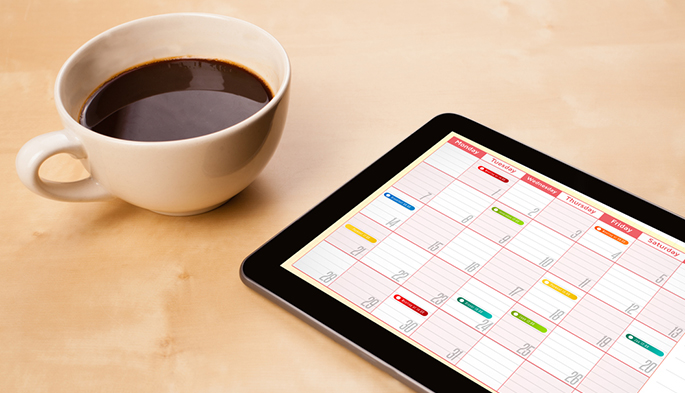 Calendar and scheduling management - online benefits