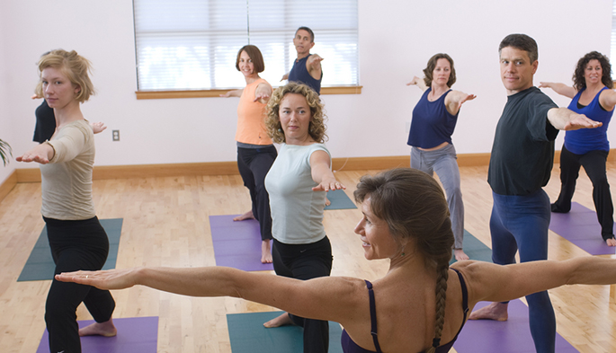Yoga studio student retention