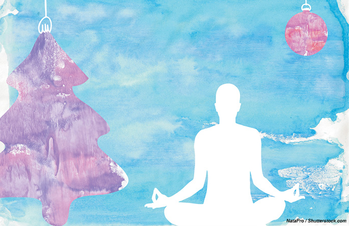 Holiday yoga class sales for new year