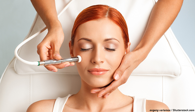 Spa trends 2015 and salon trends 2015 - microdermabrasion