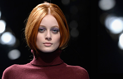 Winter 2015 hairstyle trends: faux bob