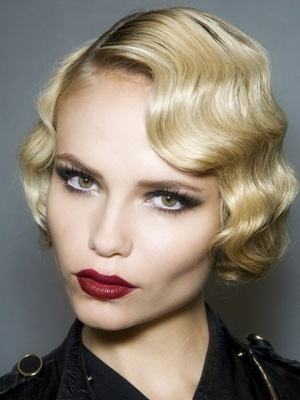 Winter 2015 hair trends - finger waves