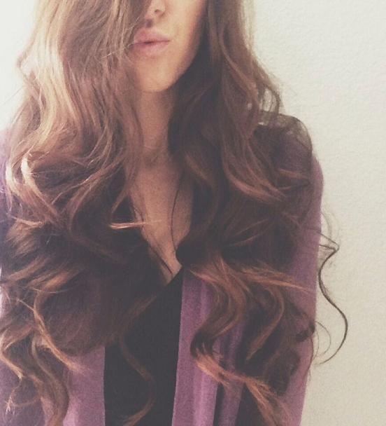 Soft curls - blowout bar style