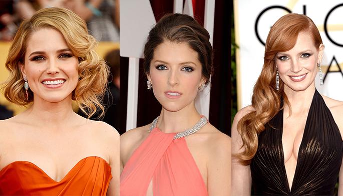 red carpet hair and makeup 2015