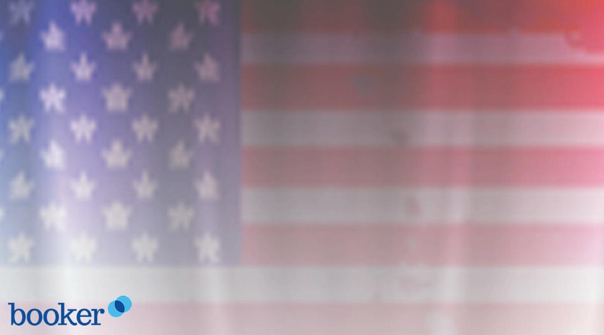 american flag booker