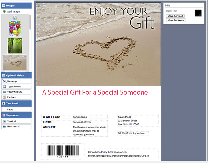 How To Create Cute And Customizable Gift Certificates This - Gift certificate template add logo