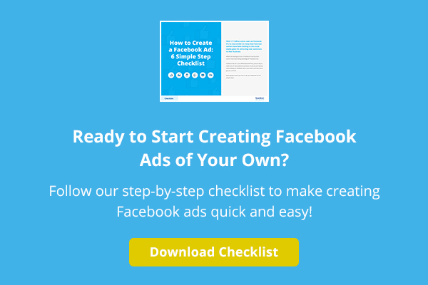 creating a Facebook ad