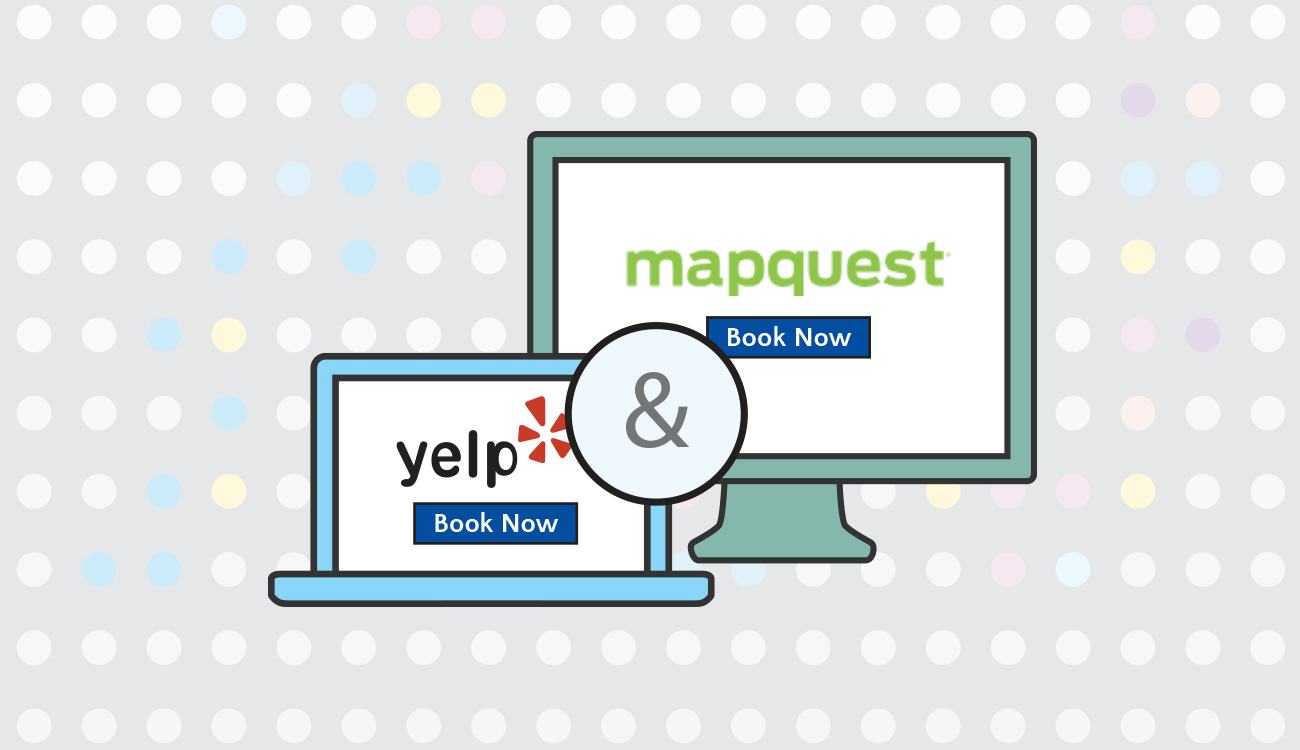 Booker Software Partnership Yelp MapQuest