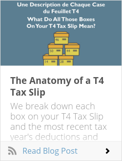 The Anatomy of a T4 Tax Slip
