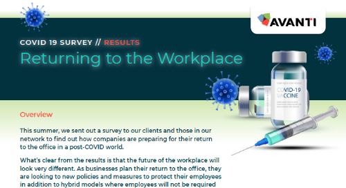 COVID-19 Return to the Workplace Survey Results