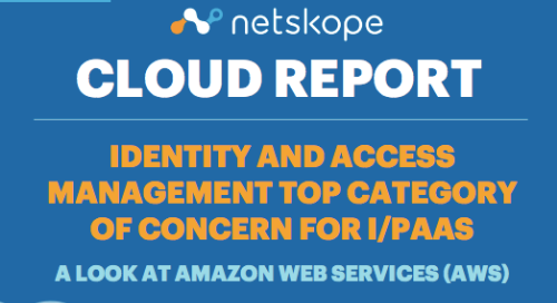 Netskope Cloud Report - October 2018 - A Look at AWS