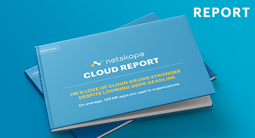 Netskope Cloud Report - February 2018