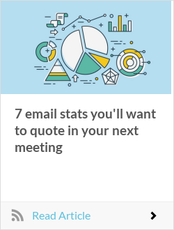 7 email stats you'll want to quote in your next meeting