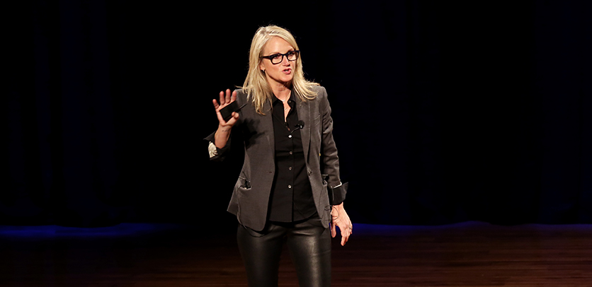 Mel Robbins at Marketing United 2018