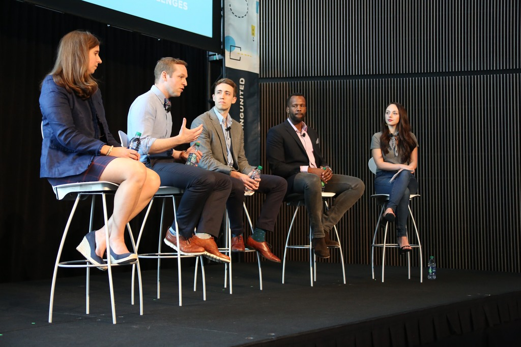 The university panel at Marketing United 2018