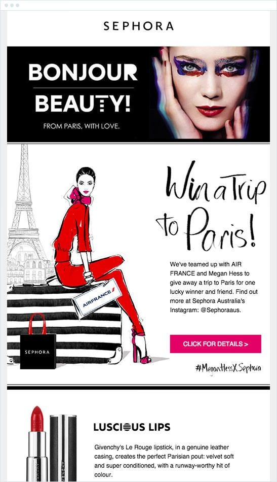 Sephora social media contest