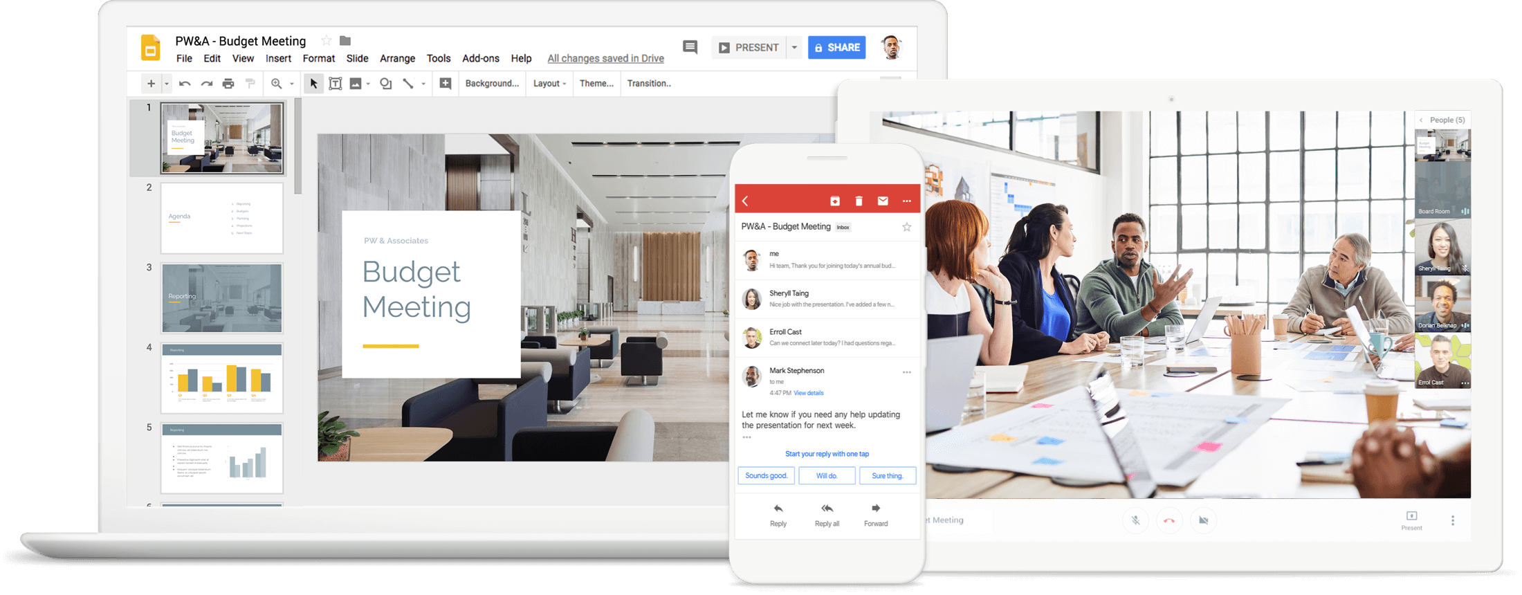 Gsuite Productivity suites