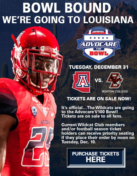 This email example from the University of Arizona athletic department does a great job of grabbing your attention with an image and headline that stands out.