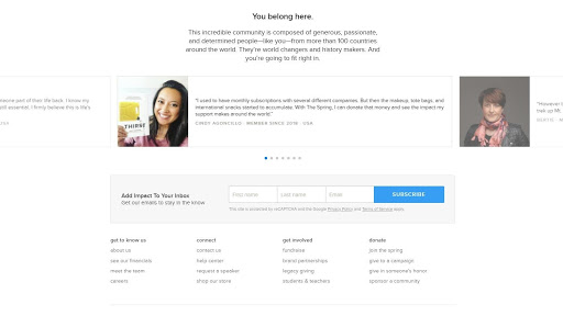 customer testimonial email example
