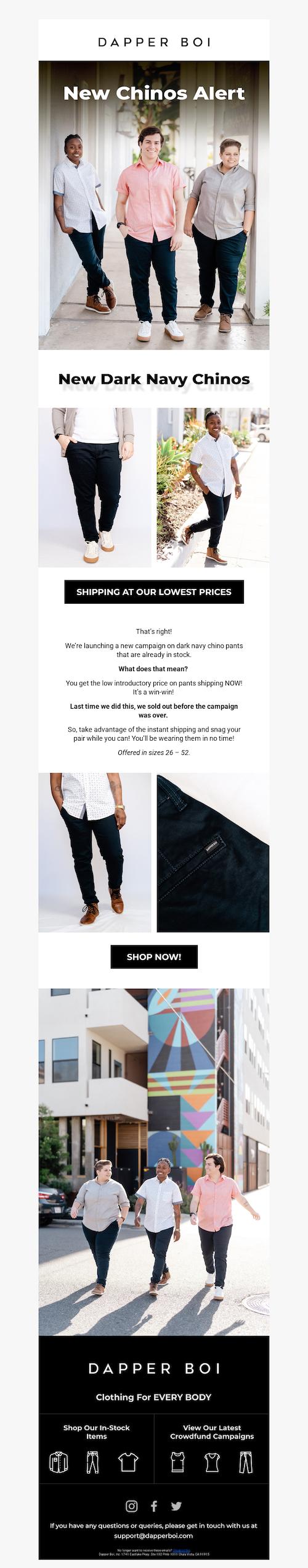 Dapper Boi email