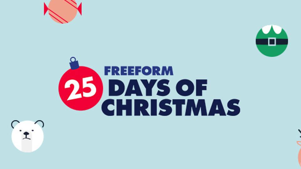 Freeform: 25 Days of Christmas [Holiday Event]