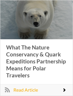What The Nature Conservancy & Quark Expeditions Partnership Means for Polar Travelers