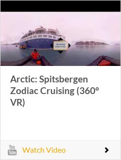 Arctic: Spitsbergen Zodiac Cruising (360° VR)