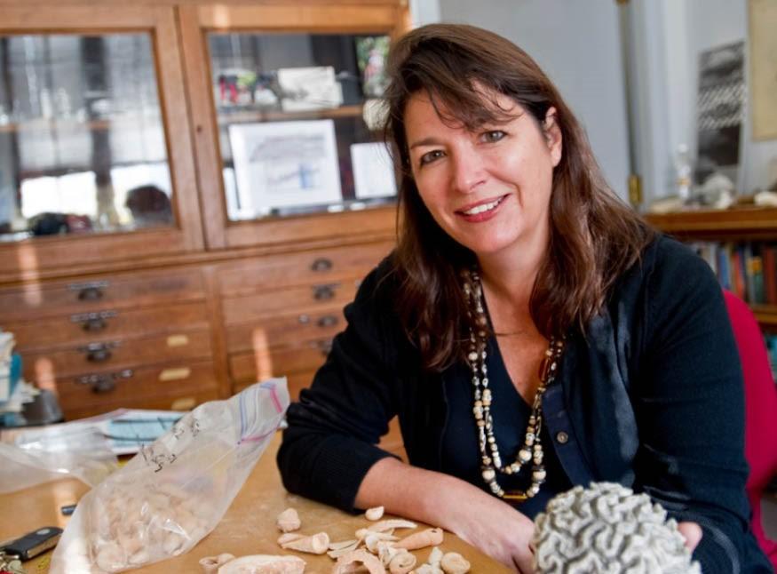Climate change expert Maureen Raymo.
