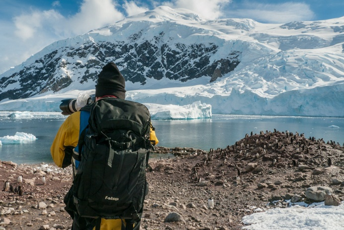 Learn how to take amazing photos in Antarctica.