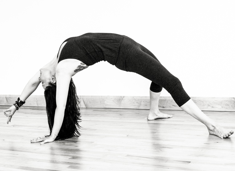 Elly MacDonald, one of your Quark Expeditions yoga guides.
