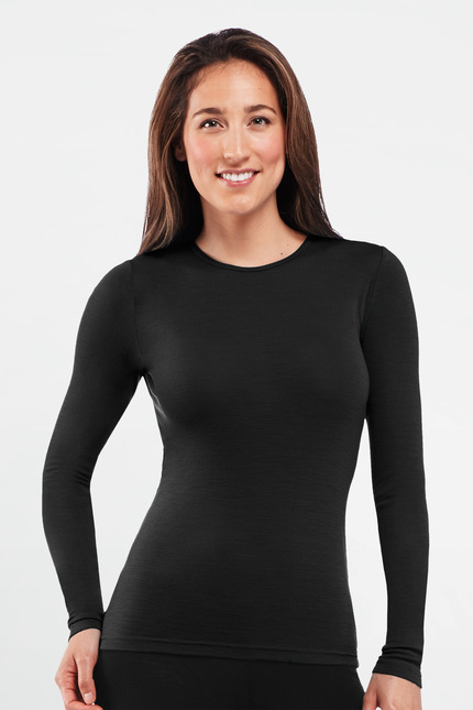 long sleeve crewe woman
