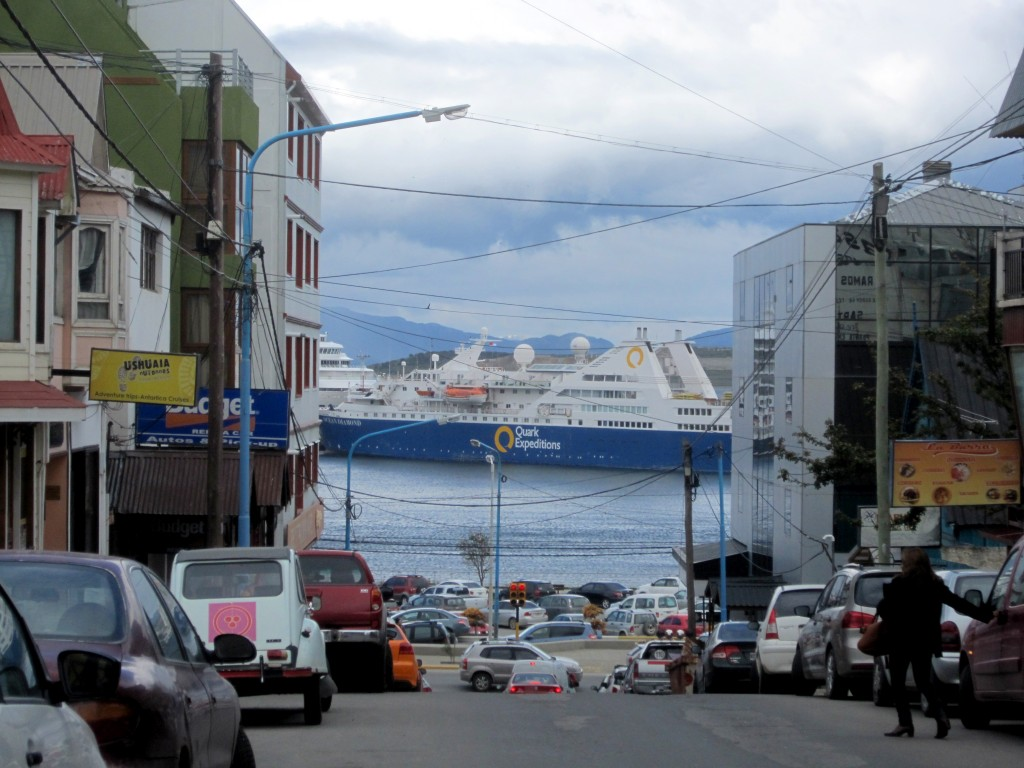 Sea Spirit in Ushuaia