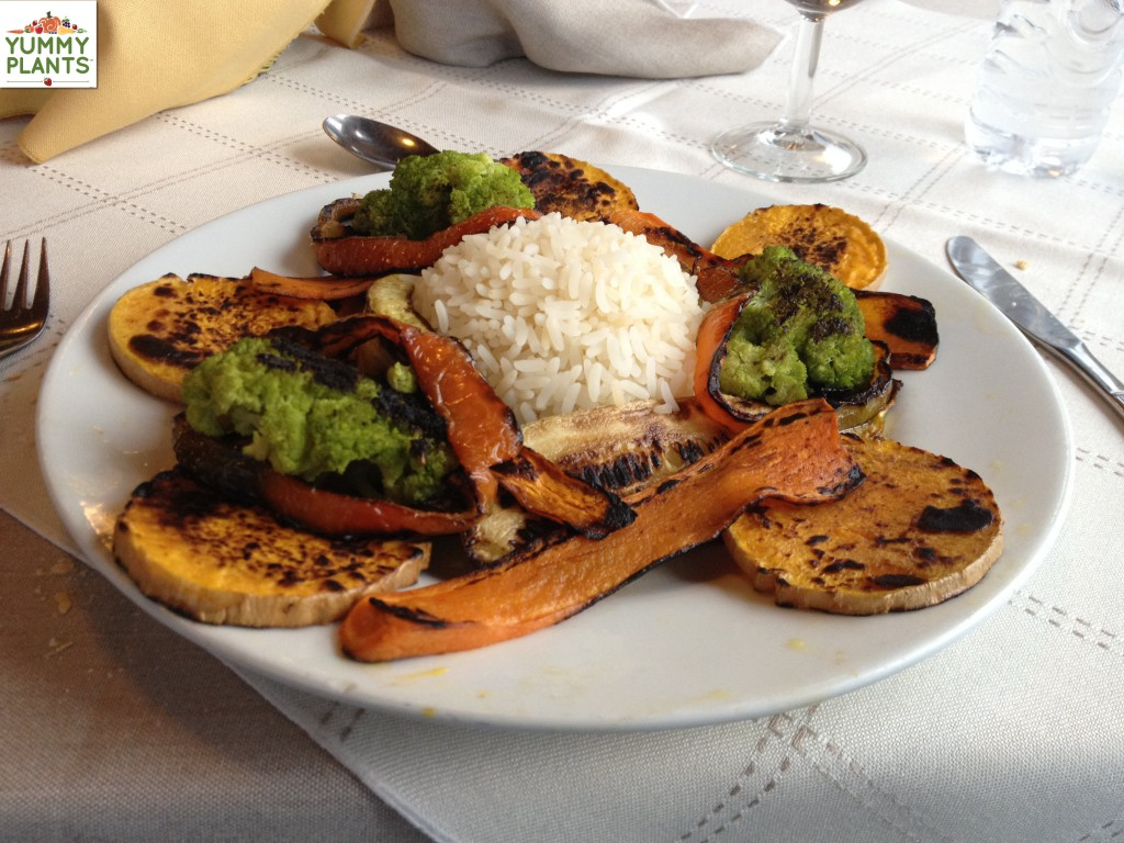 Delicious Vegan Meal at Hotel Tolkeyen in Ushuaia, Argentina