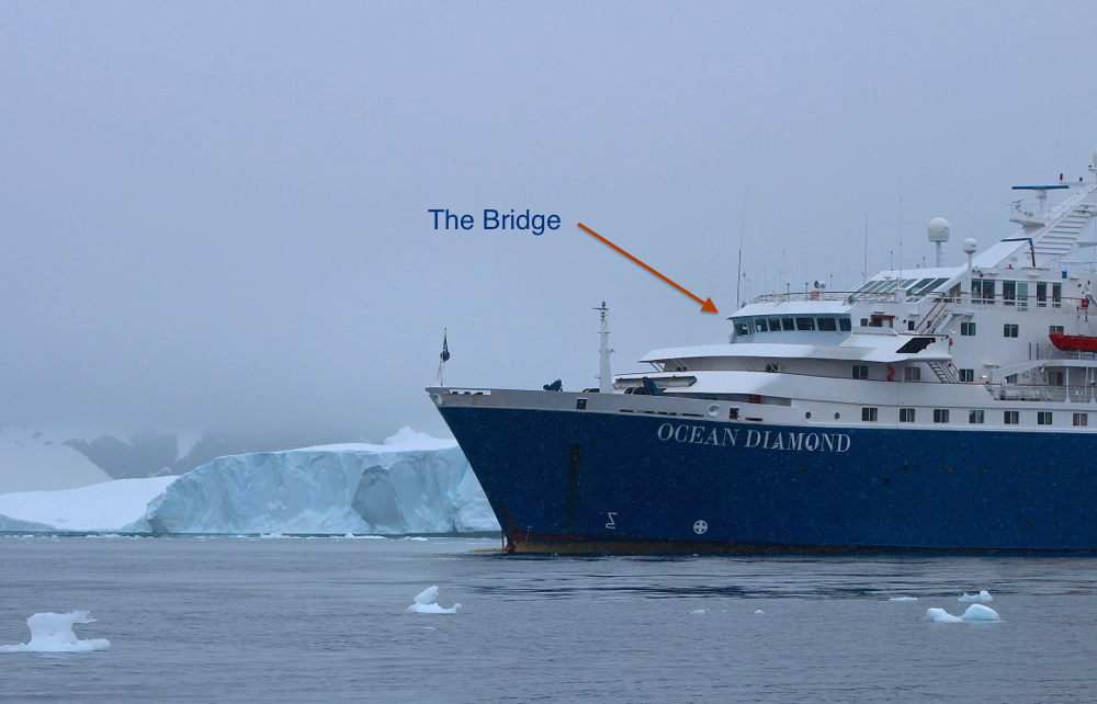 Outside picture of Ocean Diamond bridge